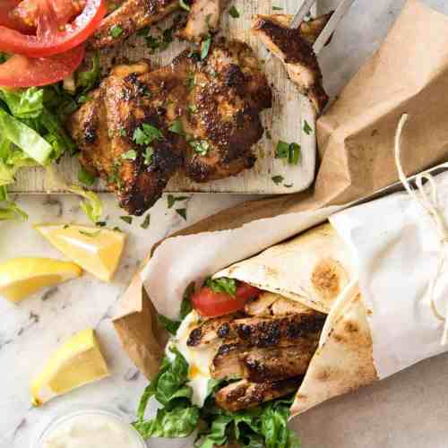 Chicken Shawarma Middle Eastern Recipetin Eats