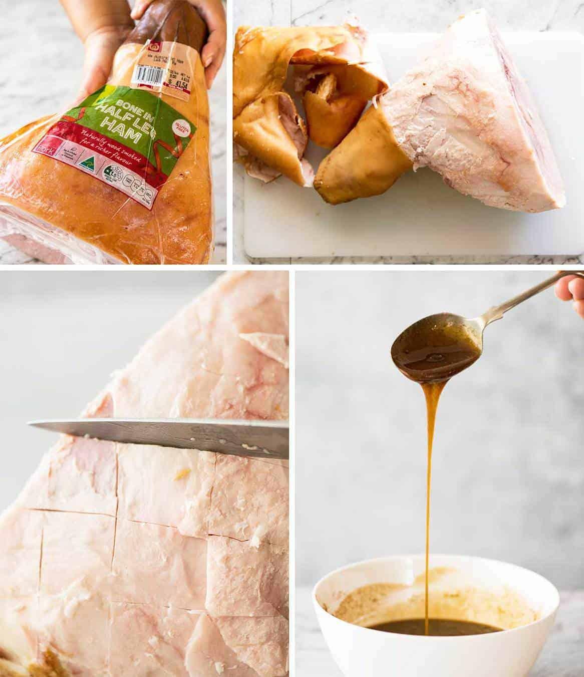 How to make a Glazed Baked Ham www.recipetineats.com