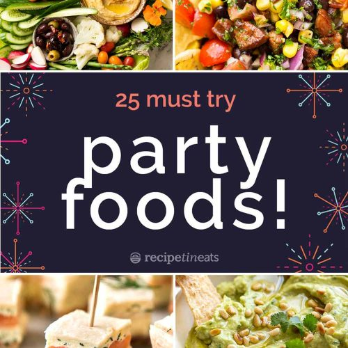 Astonishing 25 Best Party Food Recipes Download Free Architecture Designs Remcamadebymaigaardcom