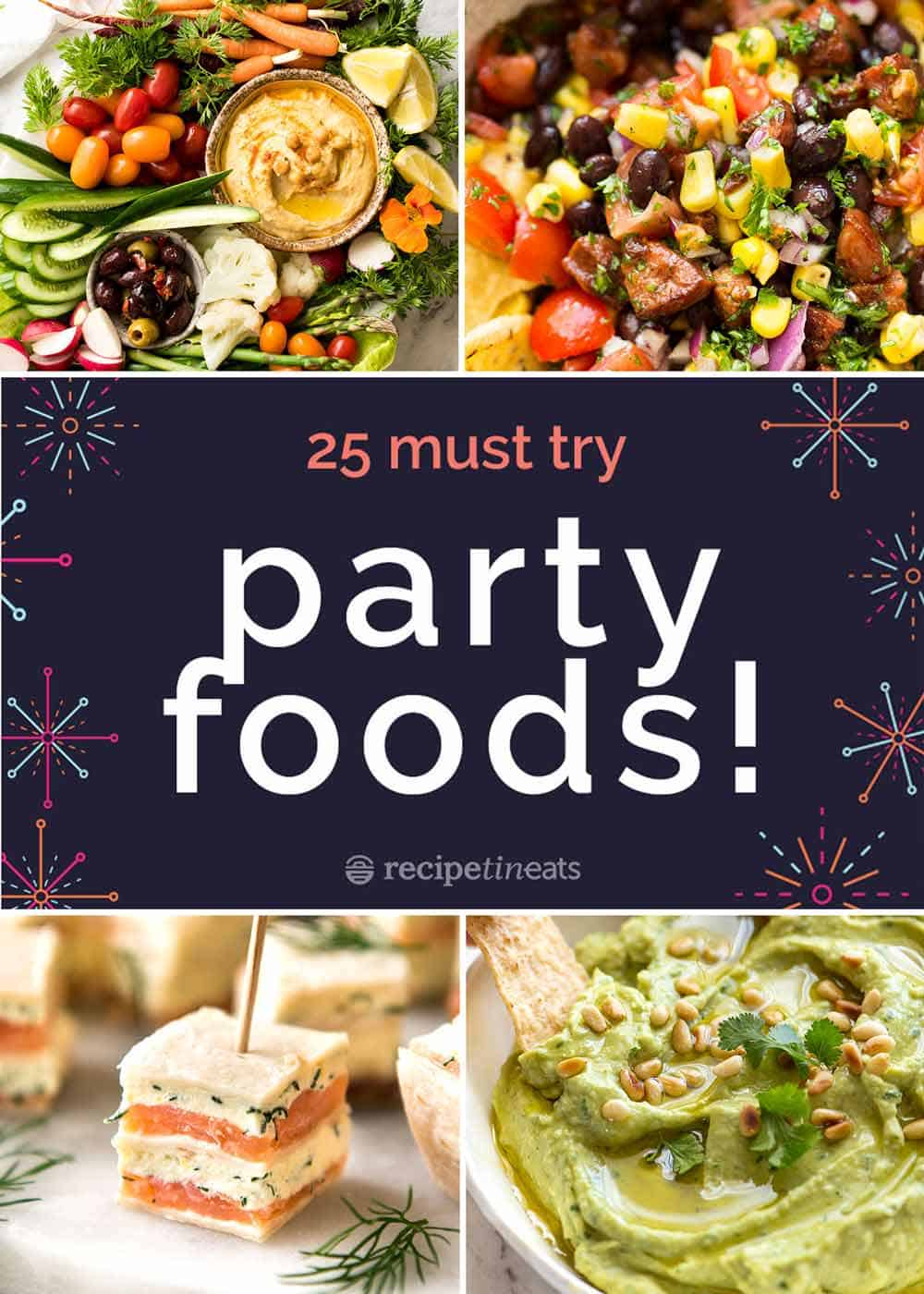 Fantastic 25 Best Party Food Recipes Interior Design Ideas Helimdqseriescom