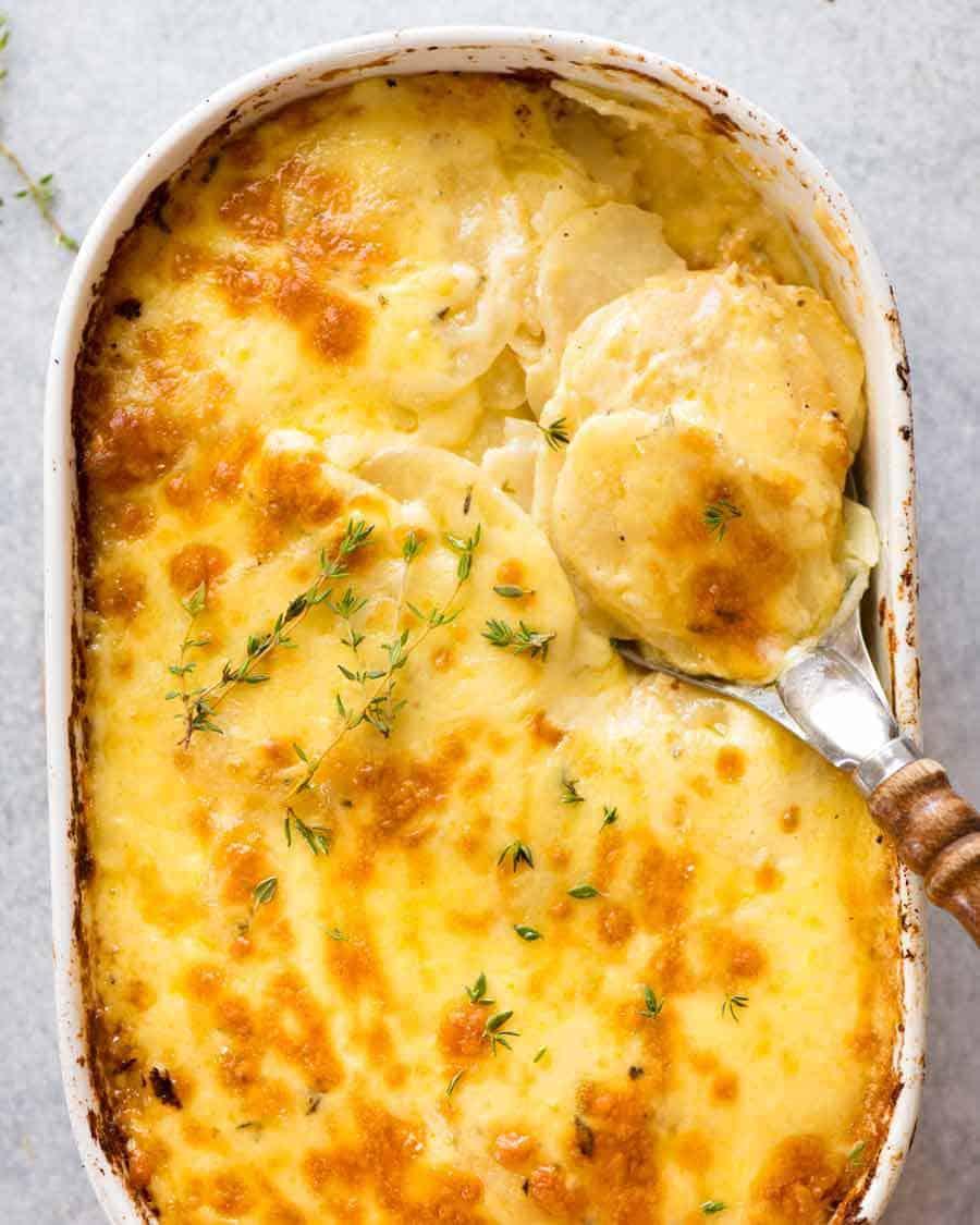Potatoes au Gratin (Dauphinoise)