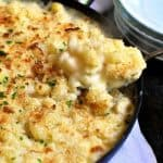 One Pot Saucy Mac and Cheese - extra saucy, creamy and cheesy, made in one pot without a single drop of cream!