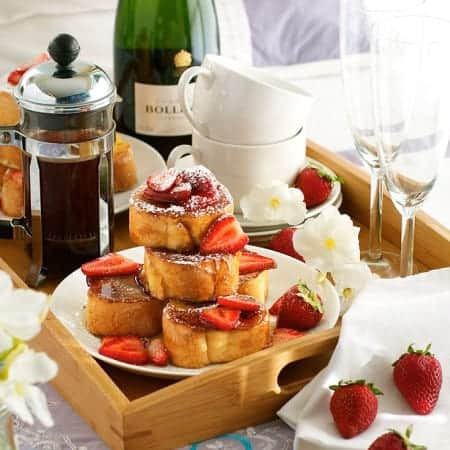 Mini Strawberry French Toast