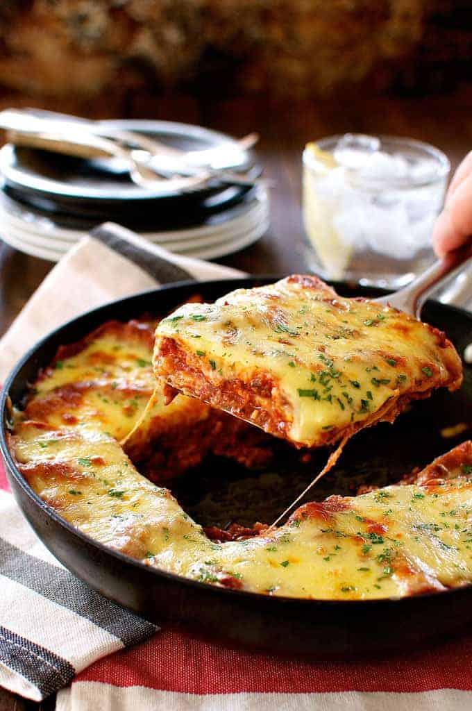 One Pot Lasagna Recipetin Eats