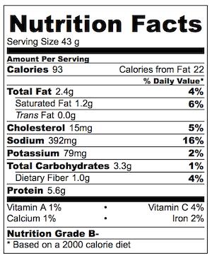 Spicy Little Muffin Tin Tostadas Nutrition