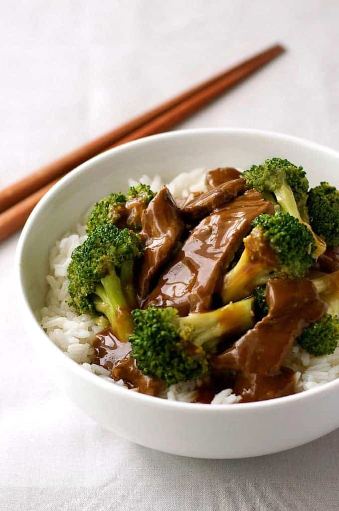 Chinese beef and broccoli extra saucy takeout style recipetin eats chinese beef and broccoli stir fry a recipe from a chinese restaurant extra saucy forumfinder Images
