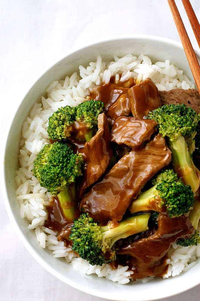 Chinese beef and broccoli extra saucy takeout style recipetin eats forumfinder Choice Image