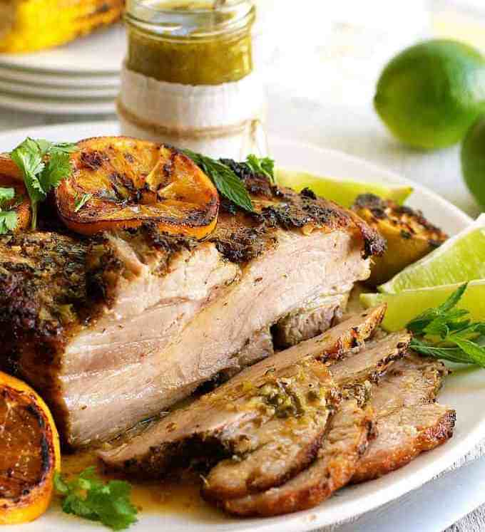 "Cuban Roast Pork - the actual recipe from the ""Chef"" movie, created by Roy Choi. Easy to make, incredible flavour, virtually foolproof. recipetineats.com"