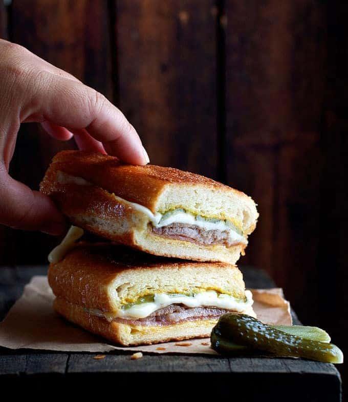 Cuban Pork Sandwich Cubanos From Chef Movie Recipetin Eats