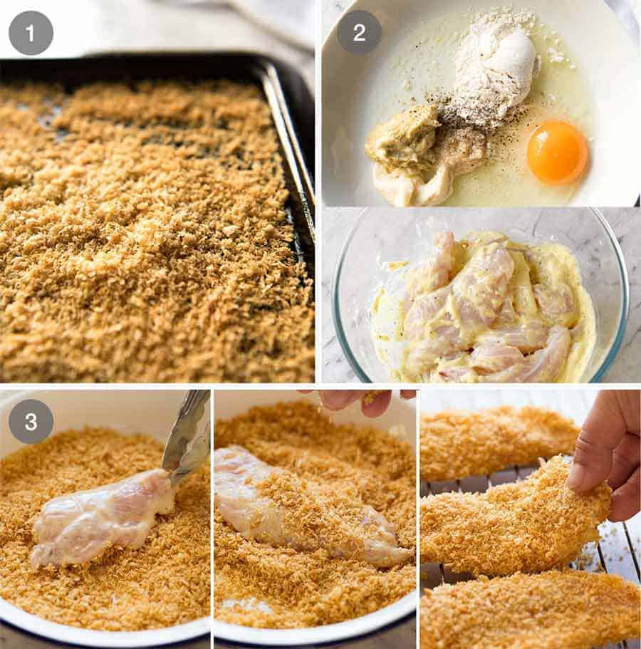How to make Crunchy Baked Chicken Tenders