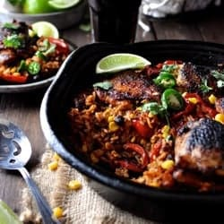 One Pot Mexican Chicken Rice