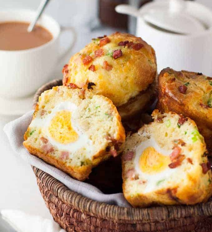 """Bacon and Egg Breakfast Muffin - this is so easy to make and is a great """"grab and go"""" breakfast!"""