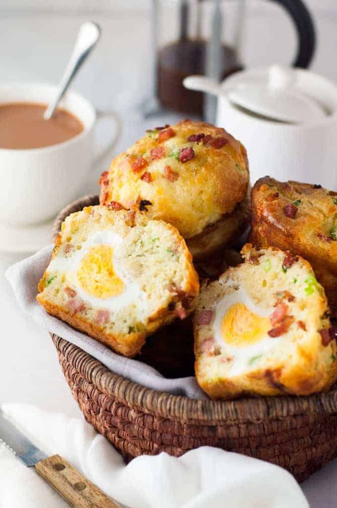 "Bacon and Egg Muffins - this is so easy to make and is a great ""grab and go"" breakfast!"
