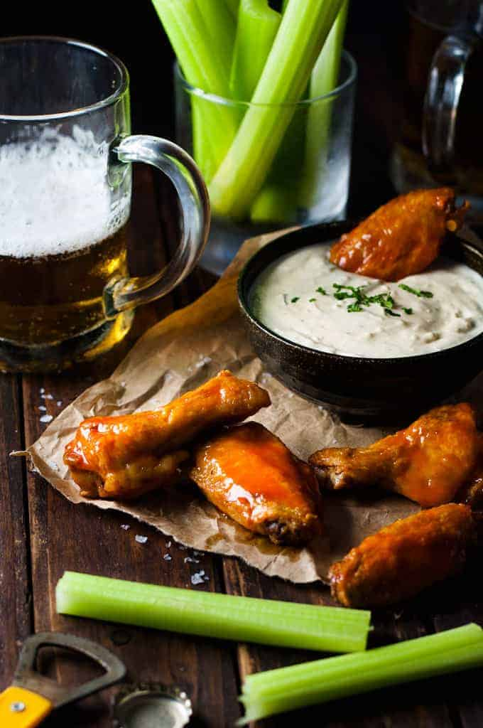 Really Good Oven-Fried Buffalo Wings Recipe — Dishmaps