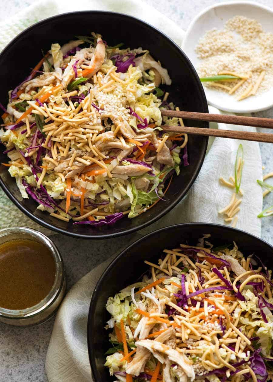 Chinese Chicken Salad Recipetin Eats