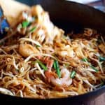 Shrimp Pad Thai - choose from 2 recipes! An everyday home version OR a real restaurant recipe, from the critically acclaimed Spice I Am. www.recipetineats.com
