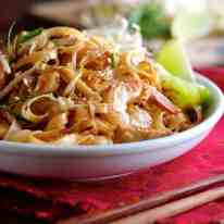 Shrimp Pad Thai - choose from 2 recipes! An everyday home version OR a real restaurant recipe, from the critically acclaimed Spice I Am. recipetineats.com