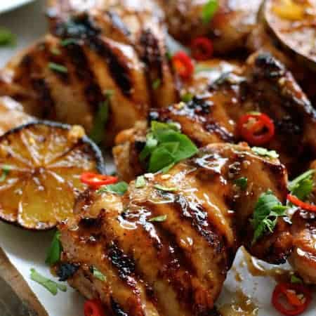 Grilled Marinated Thai Chicken (Gai Yang)