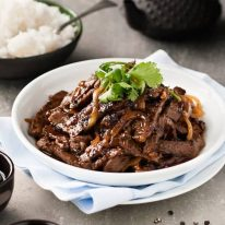 Chinese Beef with Honey & Black Pepper Sauce