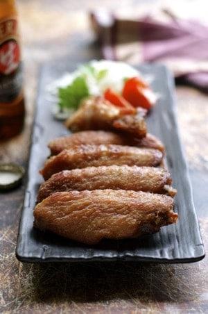 Karaage Oven Fried Chicken Wings