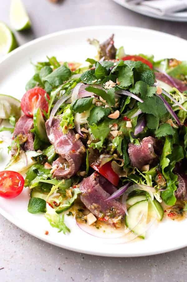 Thai Beef Salad | RecipeTin Eats