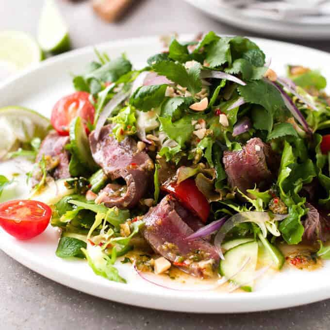 Thai Beef Salad | RecipeTin Eats