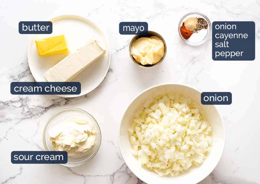What goes in French Onion Dip