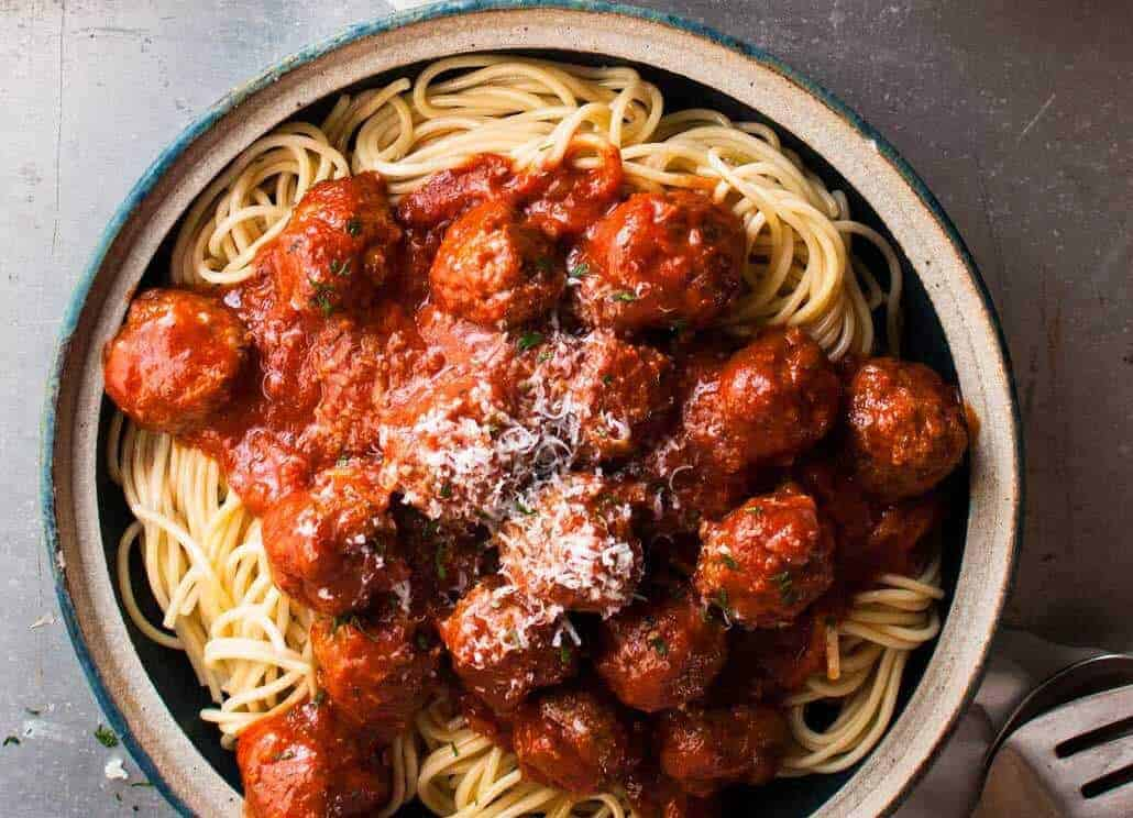 Classic Italian Meatballs - 2 little changes to the usual to make these extra soft, moist and with extra flavour! recipetineats.com