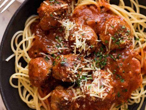 Italian Meatballs (Extra Soft and Juicy!)