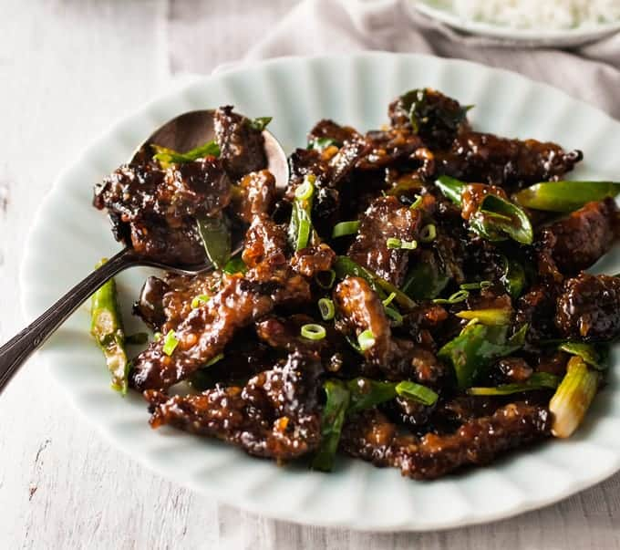 Asian chilli garlic prawns shrimp recipetin eats crispy sticky mongolian beef pf changs copycat done right less oil all forumfinder Choice Image