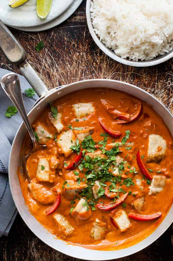 Brazilian Fish Stew - fish in a fragrant, light coconut broth. Easy to ...