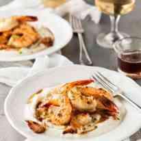 Garlic Brown Butter Shrimp (Prawns)