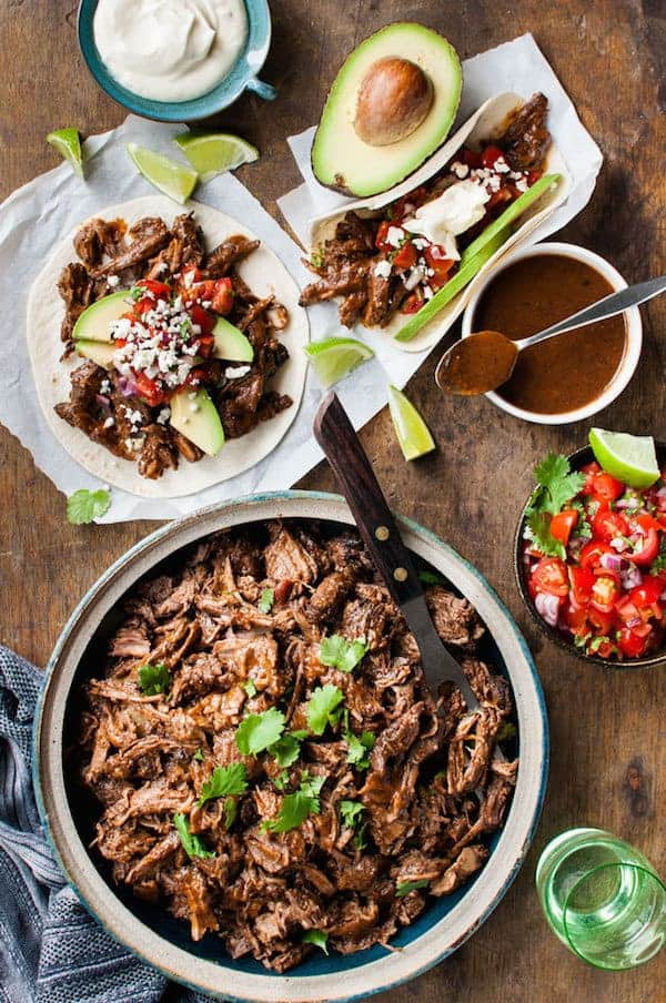 Mexican Shredded Beef And Tacos Recipetin Eats