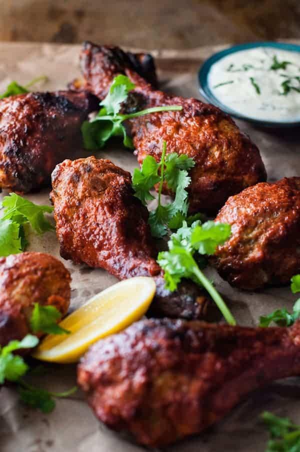 Oven Baked Tandoori Chicken Recipetin Eats