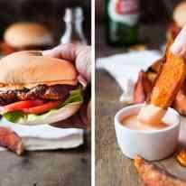 Portuguese Chicken Burger (Nando's Copycat) - my copycat of the famous Nando's Portuguese Chicken Burgers with Peri Peri Sauce