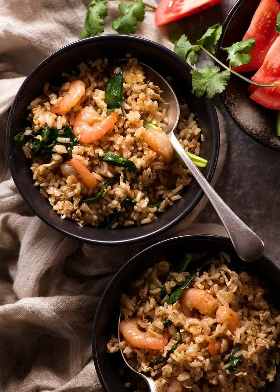 Thai Fried Rice Recipetin Eats