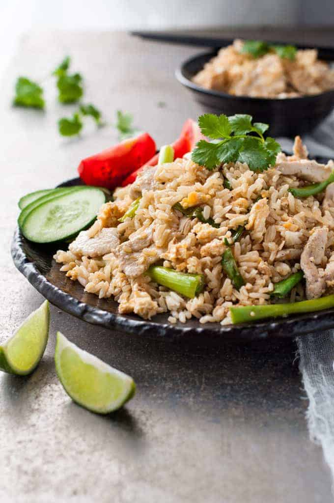 Thai chicken fried rice recipetin eats thai chicken fried rice ccuart Choice Image