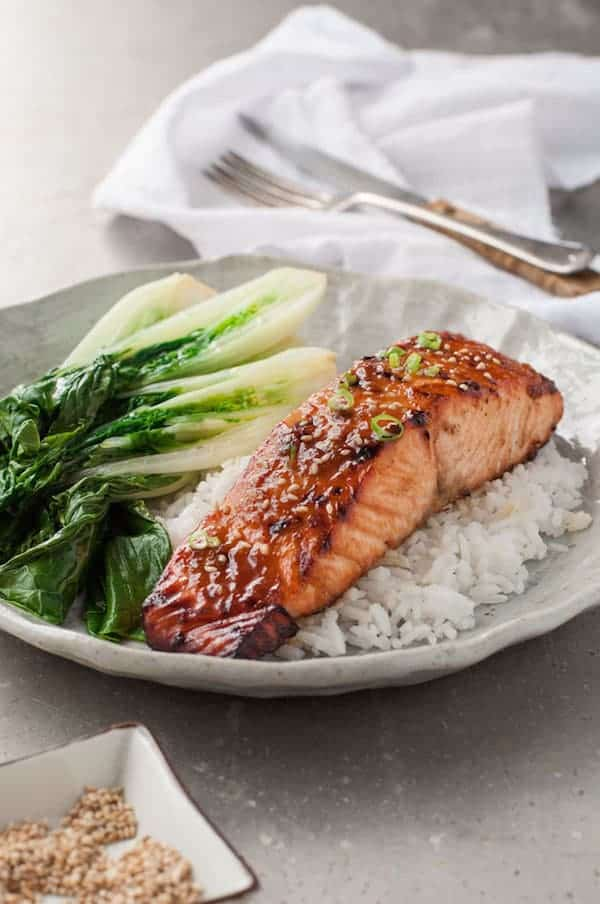 Asian Glazed Salmon Recipetin Eats
