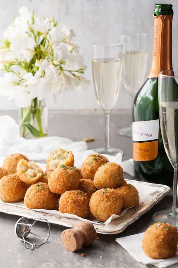 Cheesy Italian Arancini Balls Recipetin Eats
