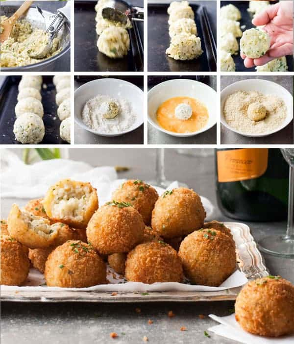 Cheesy-Italian-Arancini-Balls_Steps