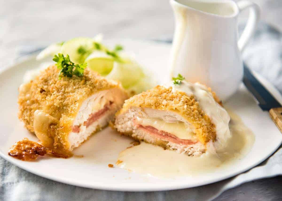 Image result for chicken cordon bleu