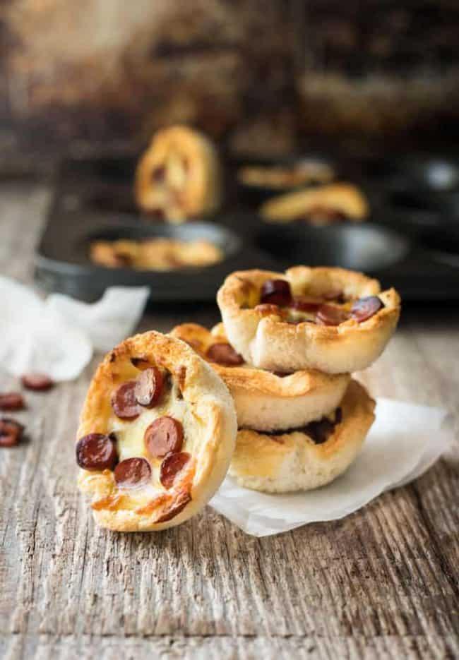 Garlic Bread Mini Pizzas | Extremely Tasty Garlic Bread Recipes | Homemade Recipes