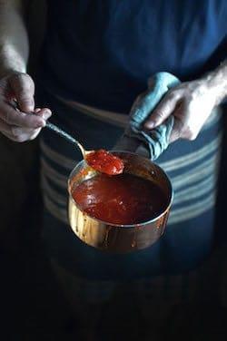 He Needs Food - Homemade Sweet Chilli Sauce
