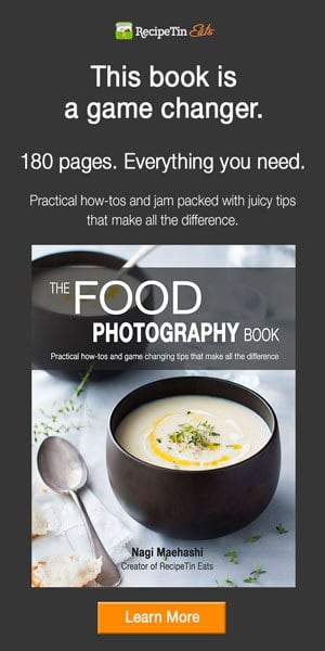 The Food Photography Book Skyscraper - 600-x-300
