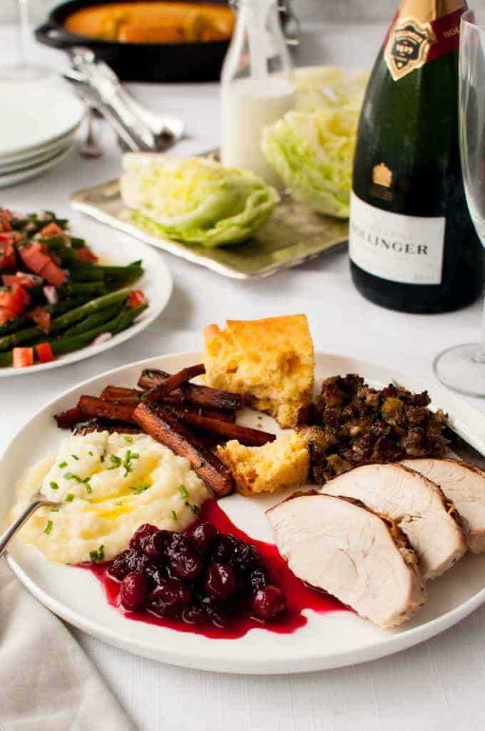 Thanksgiving or Christmas Feast