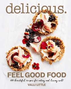 Feel Good Food cookbook by Valli Little