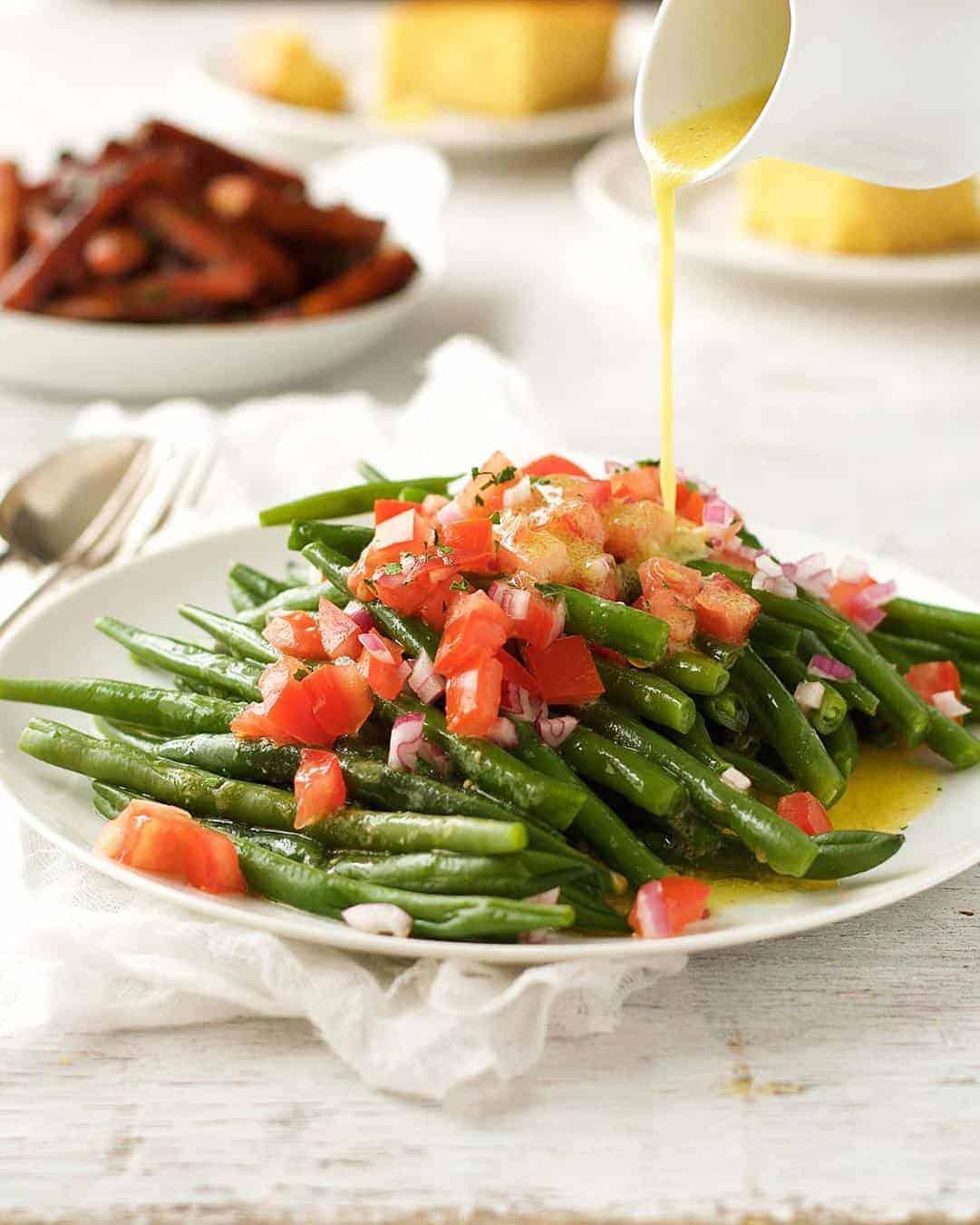 Green Bean Salad | RecipeTin Eats