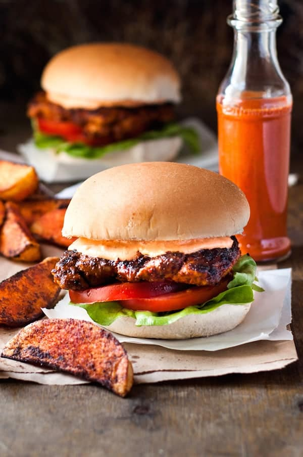 Nando S Peri Peri Chicken Burger Recipetin Eats