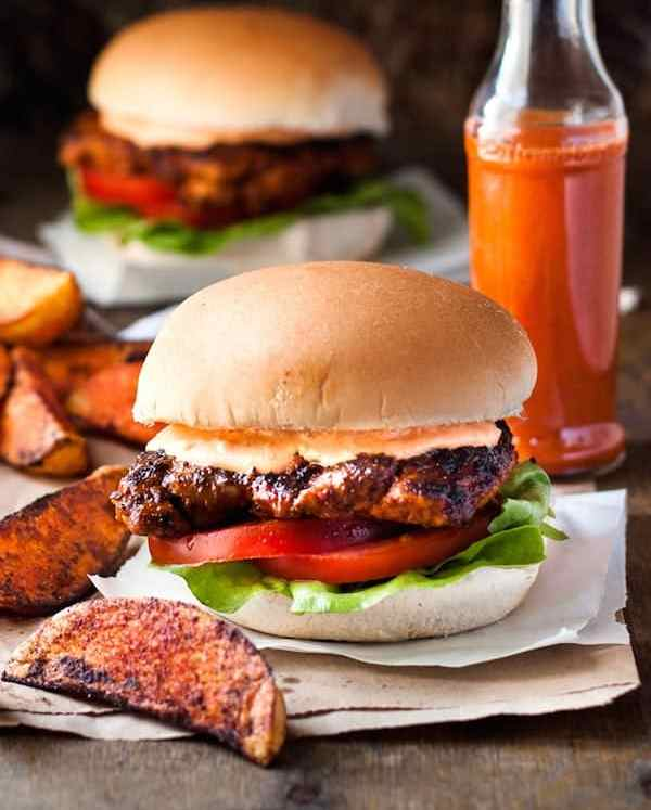 Nando's Peri Peri Chicken Burger