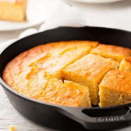 Skillet Corn Bread (Creamed Corn)
